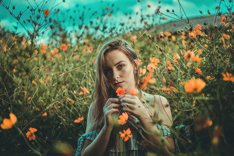 фото девушка с пиодермией