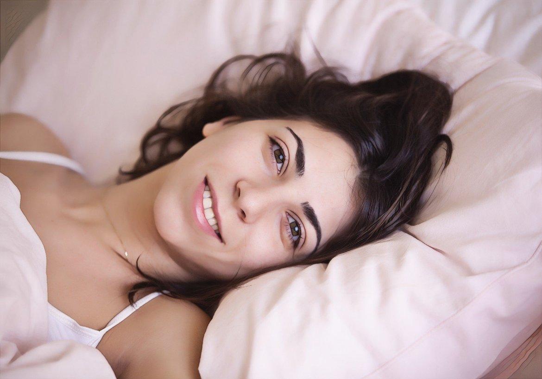 Фото девушки с нормальной микрофлорой кожи