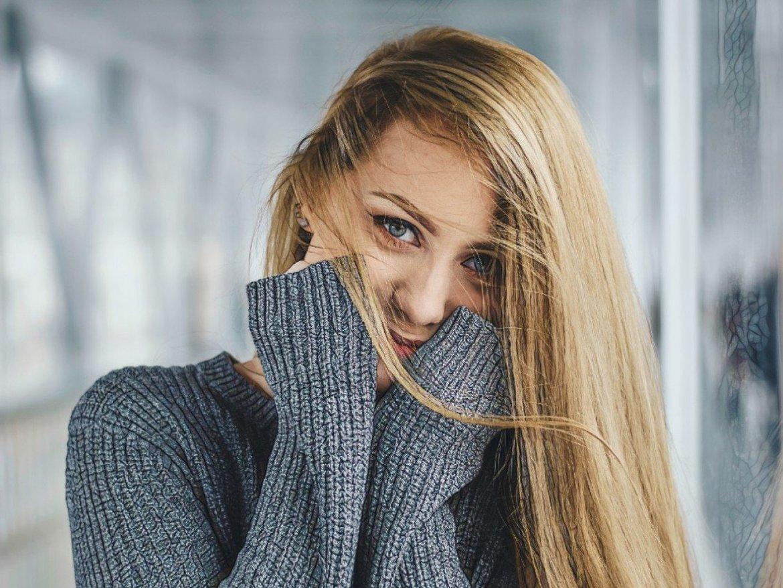 Фото девушки, которая сделала мезотерапию против акне