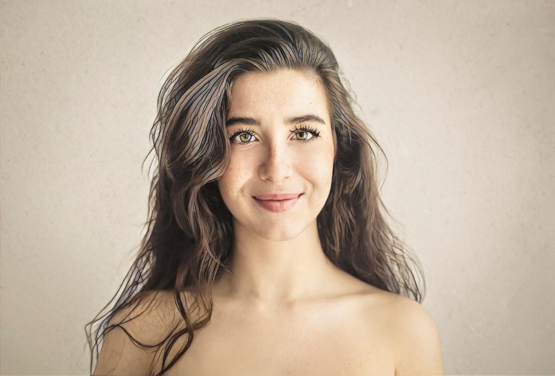 фото девушки после плазмотерапии угревой болезни