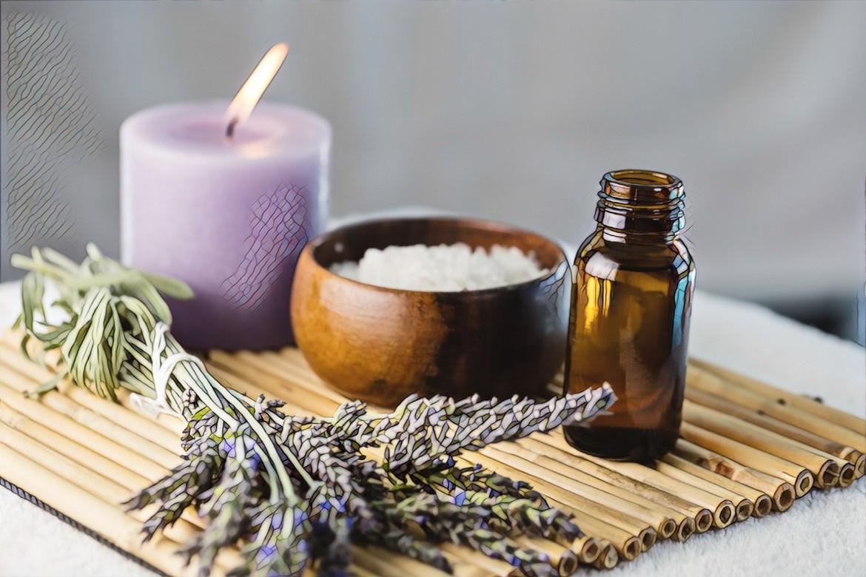 ароматерапии в салоне при стрессе и акне